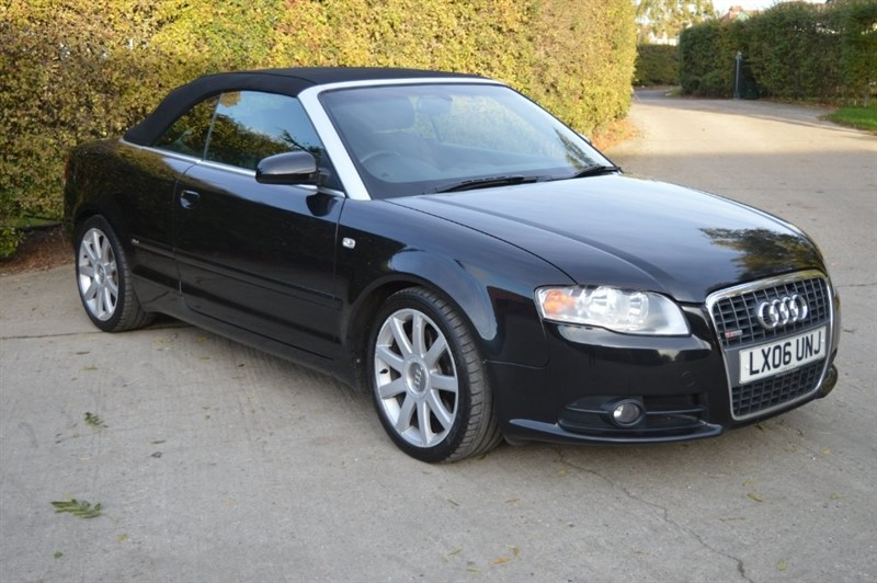 used Audi A4 Cabriolet TFSI S line Cabriolet Multitronic 2dr in epping-essex