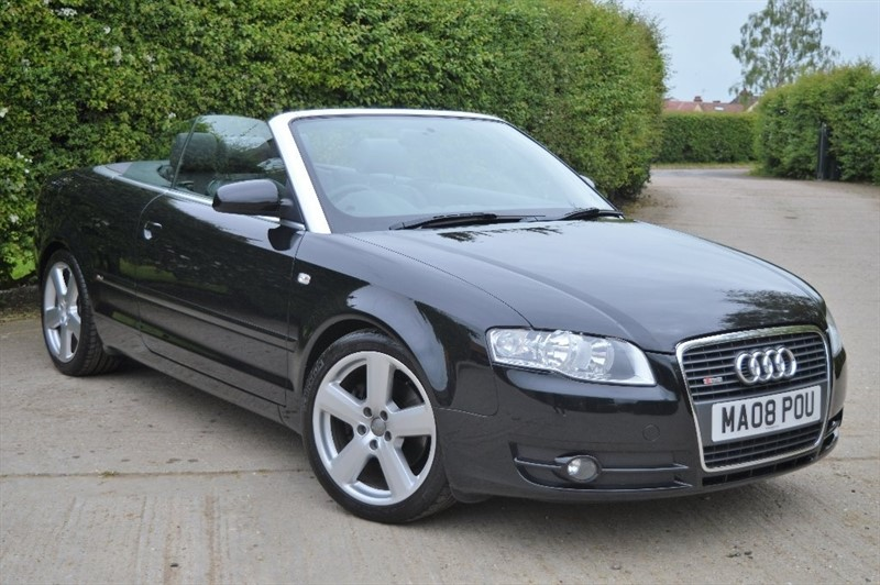 used Audi A4 Cabriolet T S line Cabriolet 2dr in epping-essex