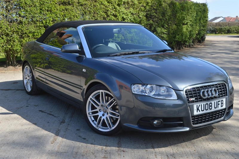 used Audi A4 Cabriolet TFSI S line Cabriolet Multitronic in epping-essex
