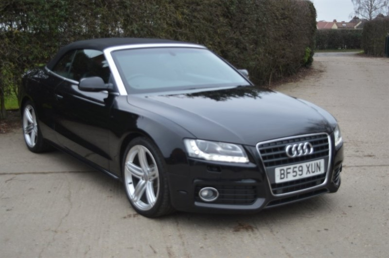 used Audi A5 Cabriolet TFSI S line 2dr in epping-essex