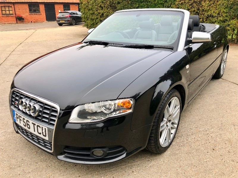 used Audi Cabriolet Tiptronic Quattro 2dr in epping-essex