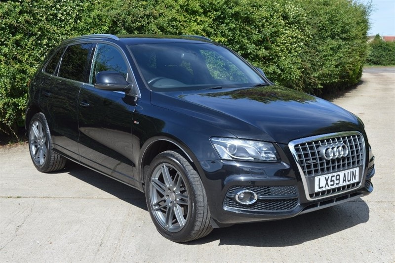 used Audi Q5 TDI S Line Tronic Quattro 5dr in epping-essex