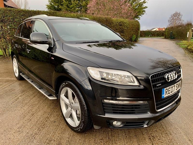 used Audi Q7 S line Tiptronic quattro in epping-essex
