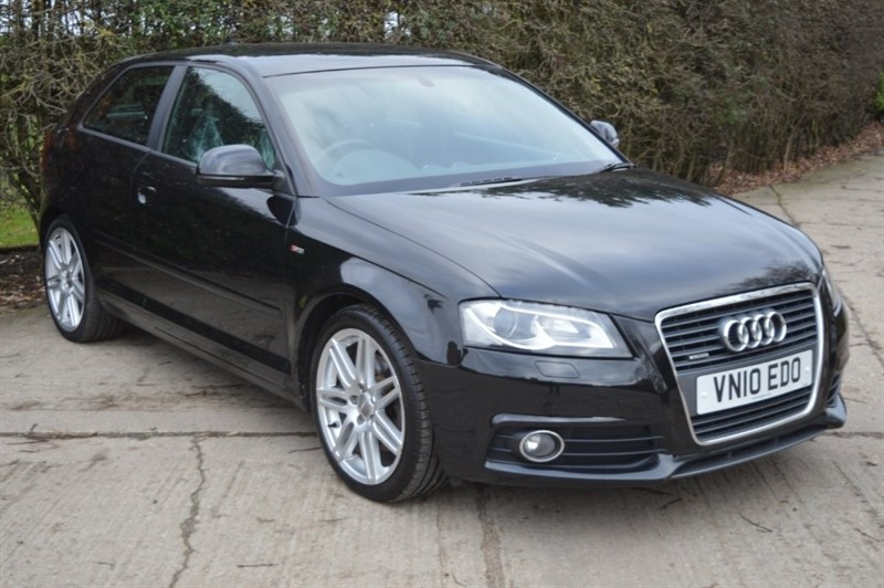 used Audi Quattro A3 TDI S line 3dr in epping-essex