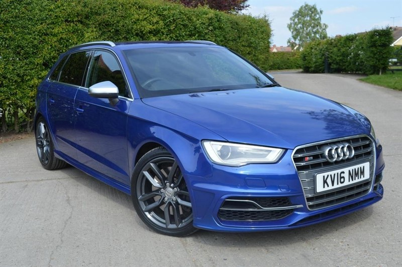 used Audi S3 TFSI Sportback S Tronic quattro 5dr (Nav) in epping-essex