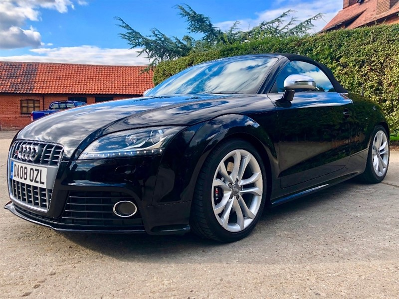used Audi TTS TFSI Roadster S Tronic Quattro 2dr in epping-essex