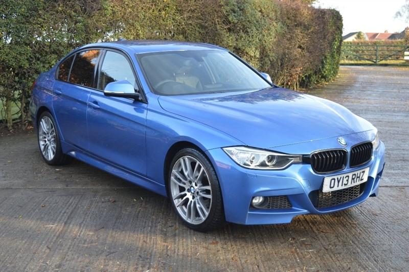 used BMW 320d 3 Series M Sport xDrive 4dr (start/stop) in epping-essex