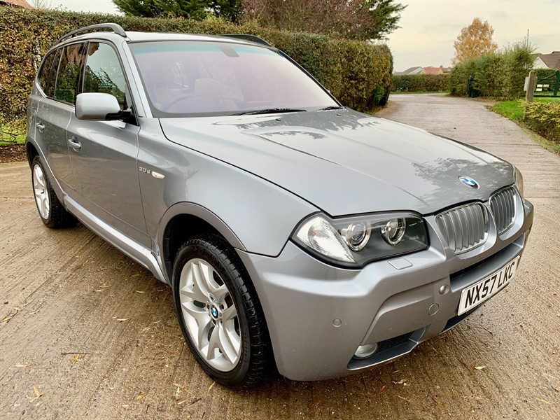 used BMW X3 30sd M Sport in epping-essex