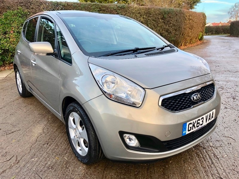 used Kia Venga 3 5dr in epping-essex