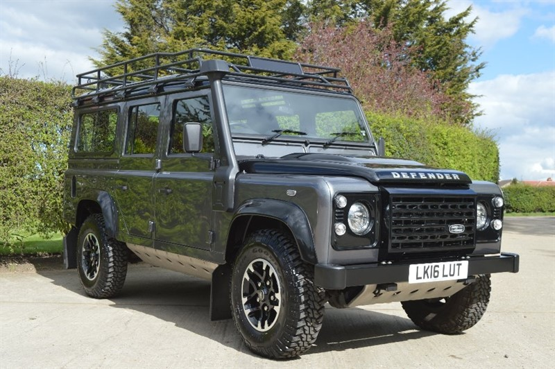 used Land Rover Defender 110 D Adventure Edition Station Wagon 5dr in epping-essex