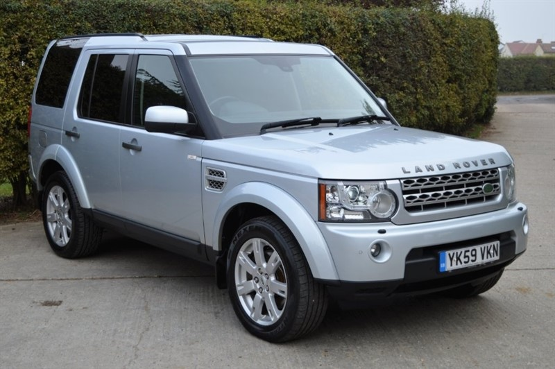 used Land Rover Discovery 4 TD V6 XS 4X4 5dr in epping-essex