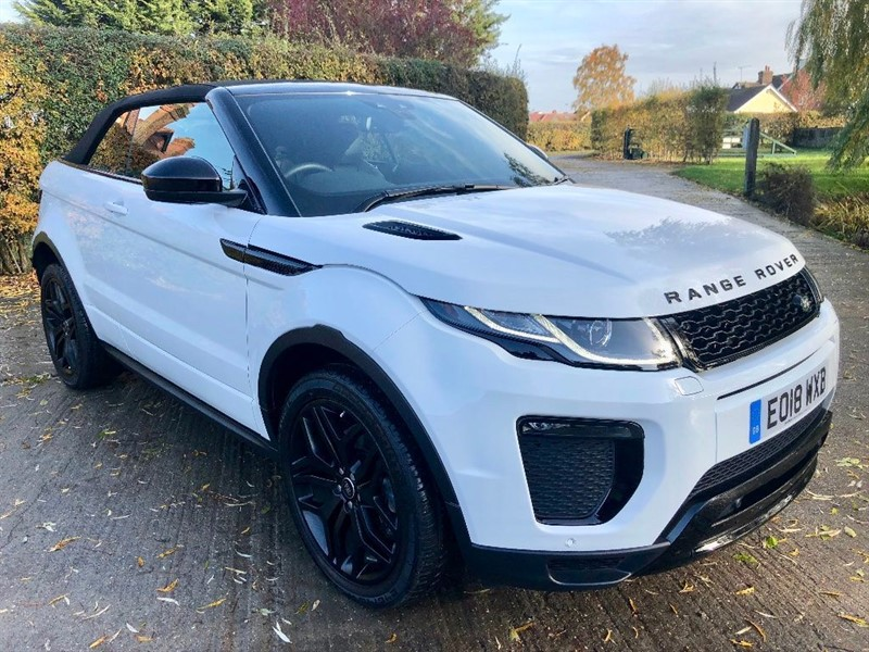 used Land Rover Range Rover Evoque TD4 HSE Dynamic 4X4 (s/s) 2dr in epping-essex