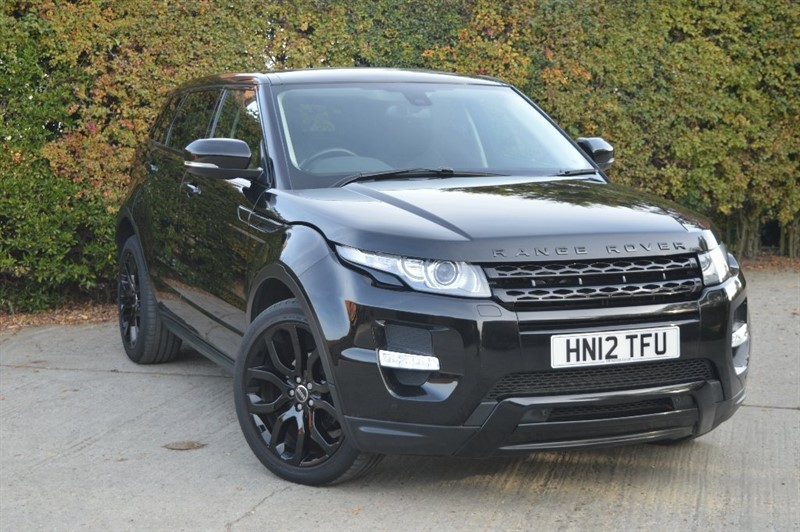 used Land Rover Range Rover Evoque SD4 Dynamic 4x4 5dr in epping-essex