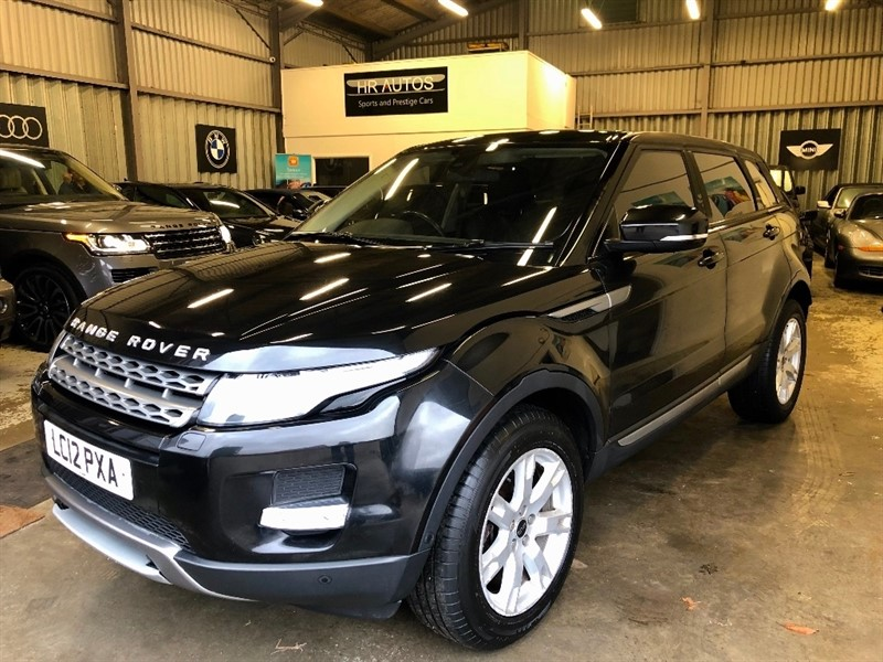 used Land Rover Range Rover Evoque SD4 Pure Tech AWD 5dr in epping-essex