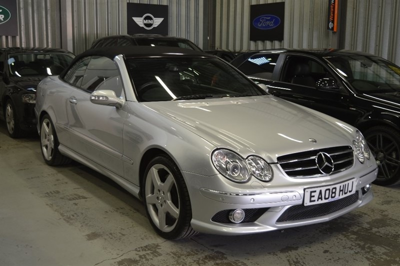 used Mercedes CLK280 CLK Sport 7G-Tronic 2dr in epping-essex
