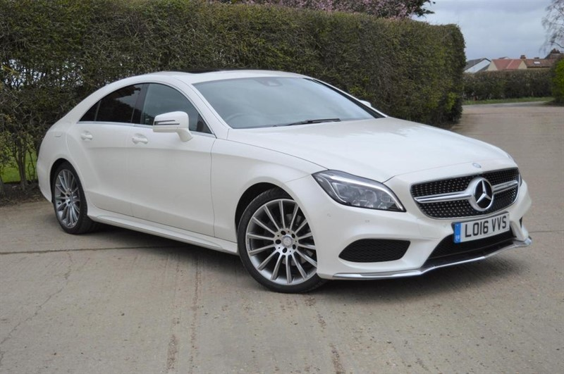 used Mercedes CLS CLS220 AMG Line (Premium) 7G-Tronic Plus (s/s) 4dr in epping-essex