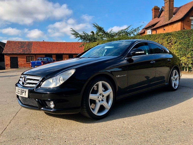 used Mercedes CLS 5.5 CLS55 AMG 4dr in epping-essex
