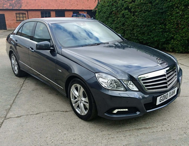 used Mercedes E350 E Class CDI Avantgarde Auto 4dr in epping-essex