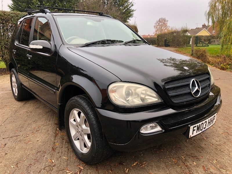 used Mercedes ML270 M Class CDI 5dr in epping-essex
