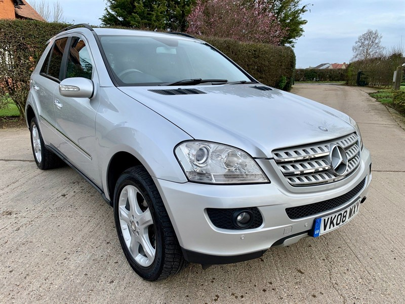used Mercedes ML320 CDI Sport 7G-Tronic in epping-essex