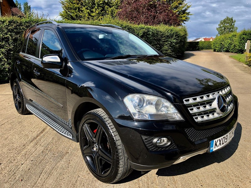 used Mercedes ML320 M Class CDI Sport 7G-Tronic 5dr in epping-essex