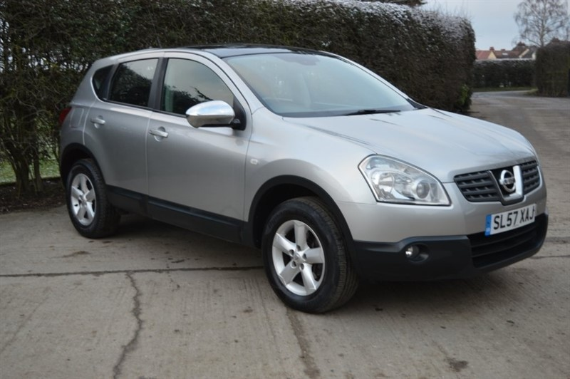 used Nissan Qashqai Acenta 2WD 5dr in epping-essex