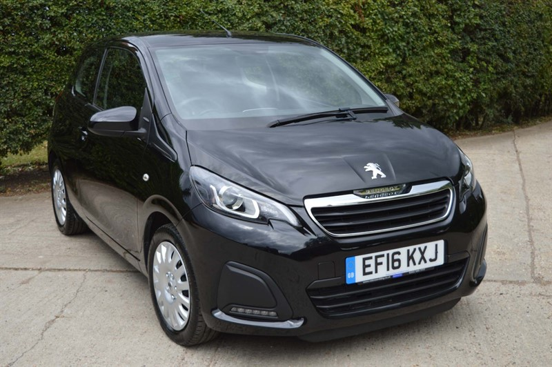 used Peugeot 108 VTi Active 3dr in epping-essex