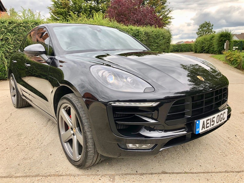 used Porsche Macan V6 Turbo PDK AWD 5dr in epping-essex