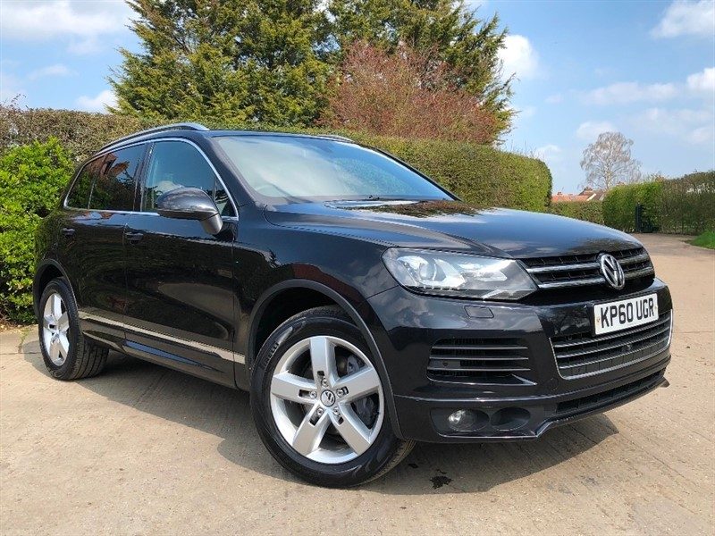 used VW Touareg TDI V6 Altitude Tiptronic 4x4 (s/s) 5dr in epping-essex