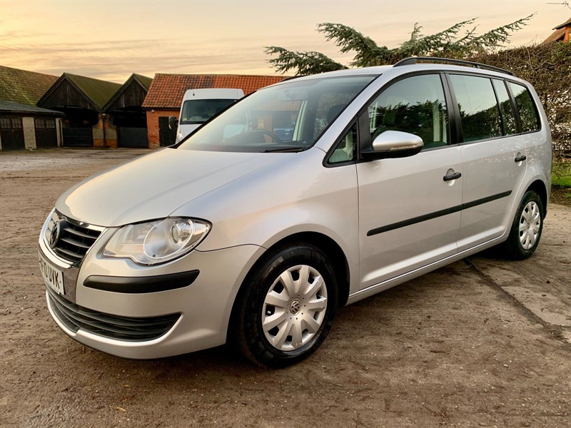 used VW Touran TDI BlueMotion Tech S 5dr (7 Seats) in epping-essex