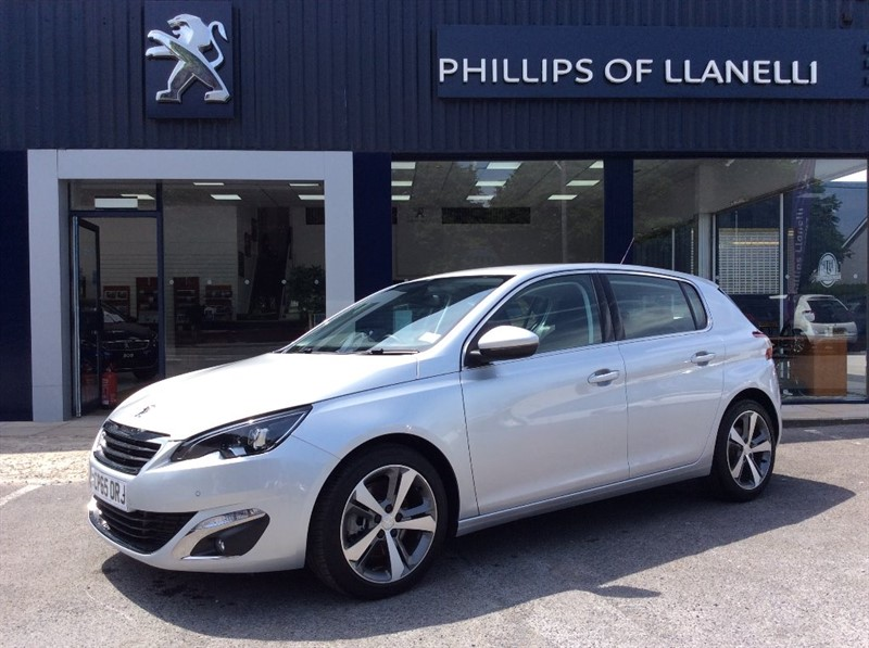 used Peugeot 308 BLUE HDI S/S ALLURE in llanelli-south-wales