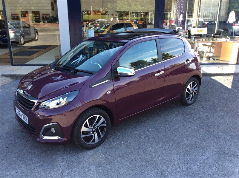 used Peugeot 108 ALLURE TOP in llanelli-south-wales