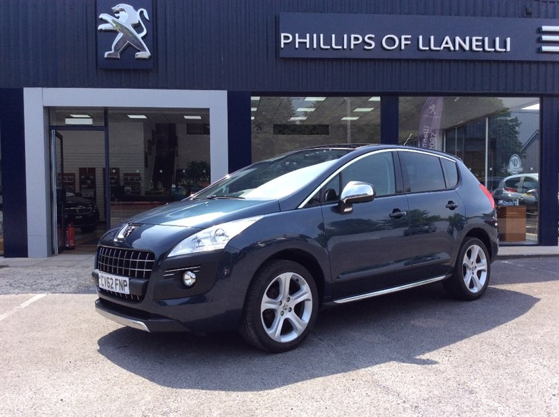 used Peugeot 3008 ALLURE HDI FAP in llanelli-south-wales