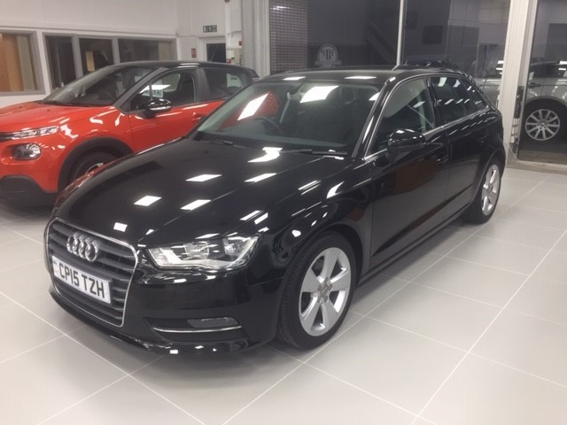 used Audi A3 SPORTBACK TDI SPORT in llanelli-south-wales