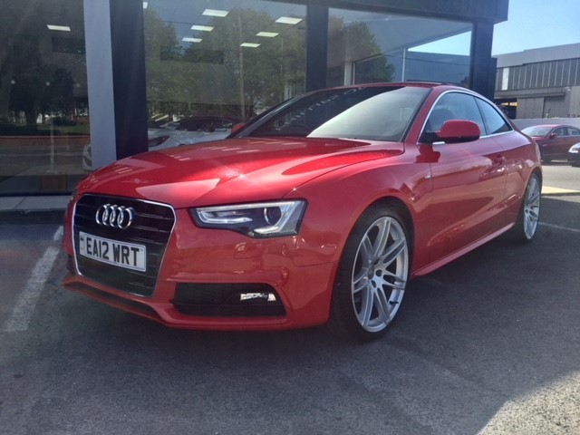 used Audi A5 TFSI S LINE in llanelli-south-wales