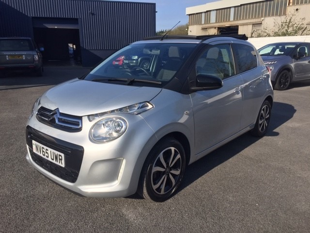used Citroen C1 PURETECH AIRSCAPE FLAIR in llanelli-south-wales