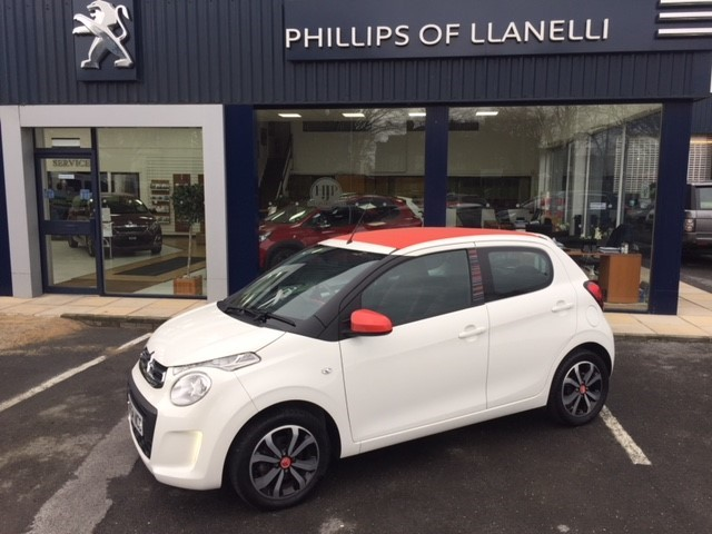 used Citroen C1 AIRSCAPE FEEL EDITION in llanelli-south-wales