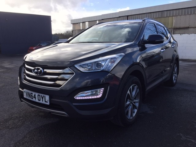 used Hyundai Santa Fe CRDI PREMIUM in llanelli-south-wales