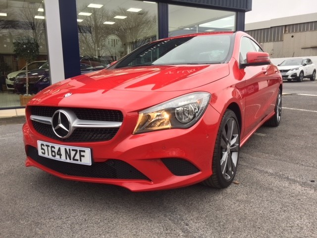 used Mercedes CLA200 CDI CLA200 CDI SPORT in llanelli-south-wales