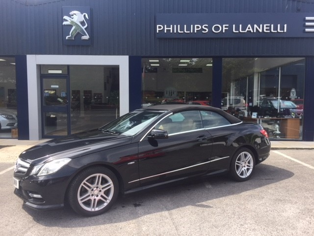 used Mercedes E250 CDI BLUEEFFICIENCY SPORT in llanelli-south-wales