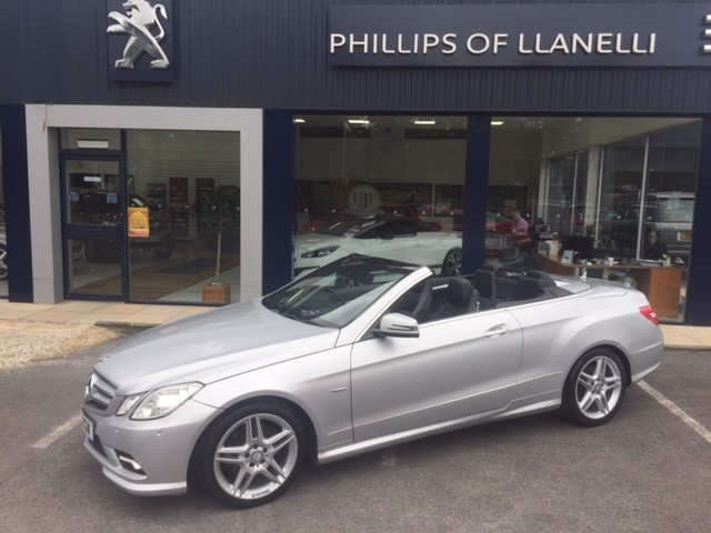 used Mercedes E350 CDI BLUEEFFICIENCY SPORT in llanelli-south-wales