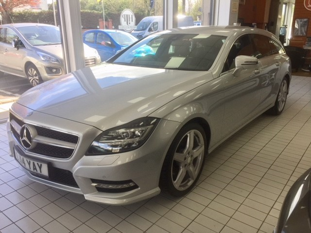 used Mercedes CLS250 CDI CLS250 CDI BLUEEFFICIENCY AMG SPORT in llanelli-south-wales