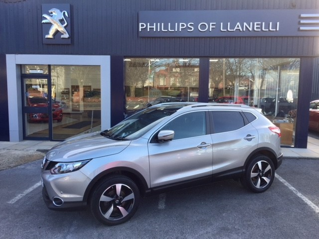 used Nissan Qashqai DCI N-TEC PLUS in llanelli-south-wales