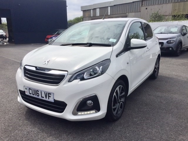 used Peugeot 108 ALLURE in llanelli-south-wales