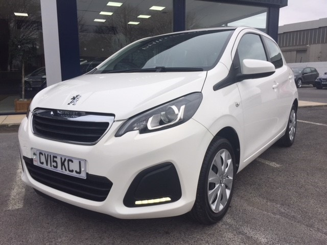 used Peugeot 108 ACTIVE in llanelli-south-wales