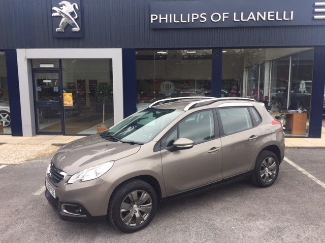 used Peugeot 2008 E-HDI ACTIVE in llanelli-south-wales