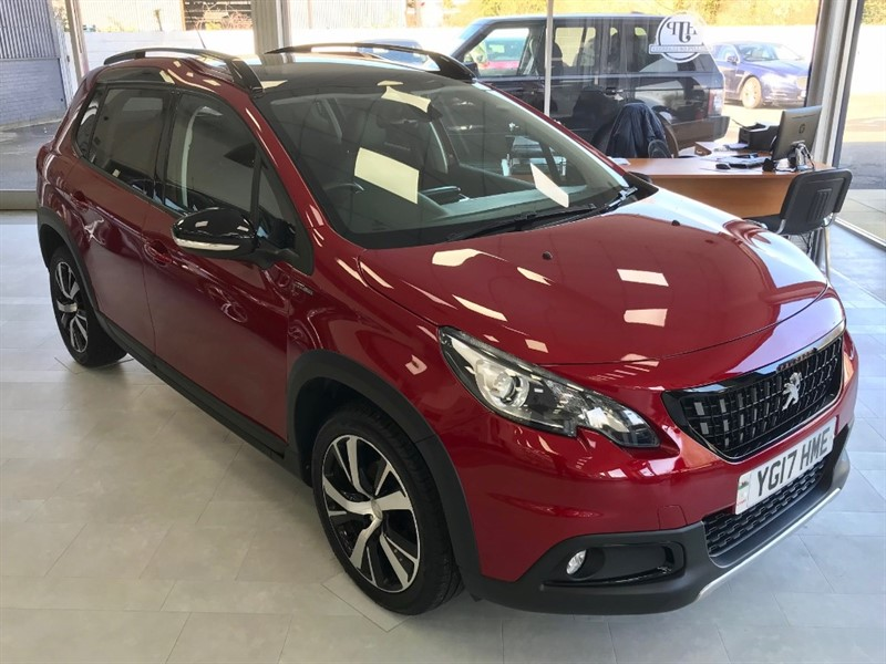 used Peugeot 2008 BLUE HDI GT LINE in llanelli-south-wales