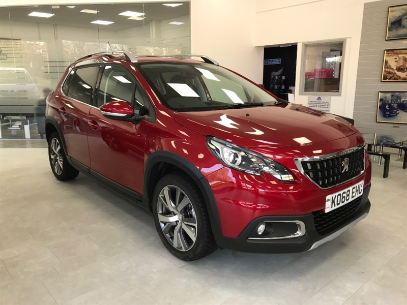 used Peugeot 2008 BLUE HDI ALLURE in llanelli-south-wales