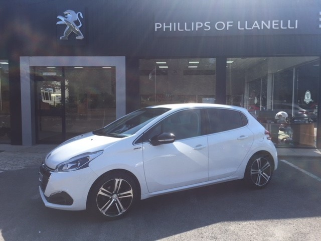 used Peugeot 208 S/S GT LINE in llanelli-south-wales