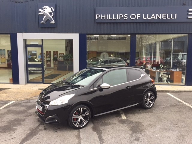 used Peugeot 208 THP GTI PRESTIGE in llanelli-south-wales